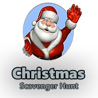 Christmas Riddle Scavenger Hunt Clues