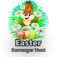 Childrens Easter Scavenger Hunt Clues