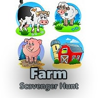 Farm Riddle Scavenger Hunt Clues