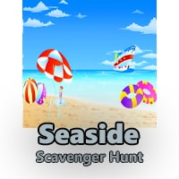 Seaside Scavenger Hunt Clues