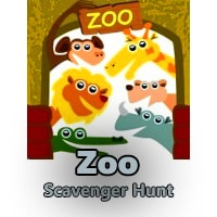 Zoo Scavenger Hunt Clues