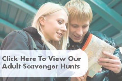 Adult Scavenger Hunt Clues