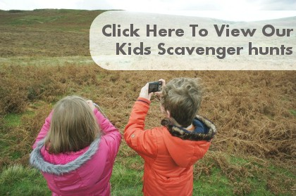 Kids Scavenger Hunt Clues